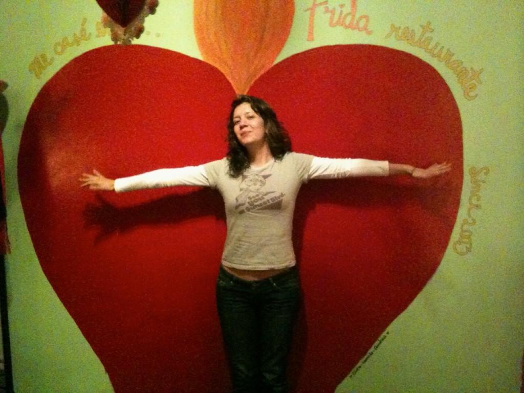 Corazón gigante - Cosas de san Valentín